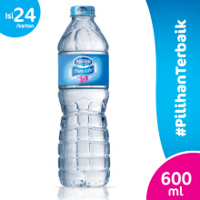 NESTLE Pure Life Mineral Water Carton 600ml x 24pcs