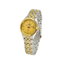 MIRAGE Watch Ladies 8467L Silver Gold pK - Gold