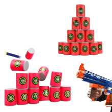 baellerry EVA Soft Bullet Target for Nerf N-strike Blasters Pack of 12pcs Valentine Red