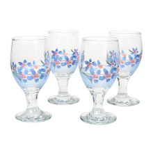 BRILIANT Goblet GM1044 Set Of 4 - Blue