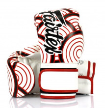 FAIRTEX Boxing Gloves BGV14 Wave of Kanagawa Red White