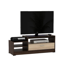 PRISSILIA Desolator Entertainment Center - Maple 12x40x120