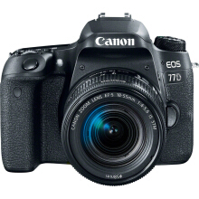 [free ongkir]CANON EOS 77D Kit EF-S 18-55mm - Black