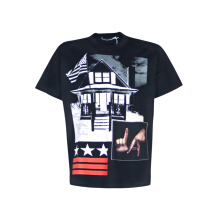 Givenchy Patchwork Print T-shirt Black XXS