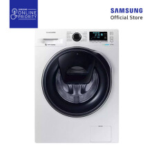SAMSUNG Mesin Cuci Front Loading 10KG WW10K6410QW/SE [SAMSUNG ONLINE PRIORITY]