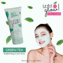 Everwhite Green Tea Clay Mask Yang 100% Ori BPOM