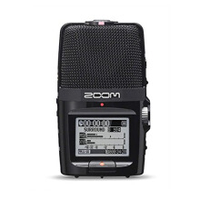 Zoom H2n Handy Recorder Black