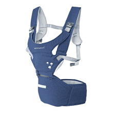 MOOIMOM Hipseat Carrier - Navy
