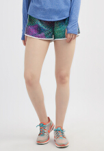 Corenation Active Fraction Shorts - Multicolor