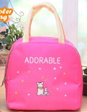 [free ongkir]RADYSA Coolerbag Adorable - Pink Pink Others