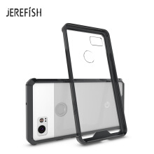JEREFISH Ultra Thin Acrylic Case For PIXEL XL 2 Dirt-resistant Case Transparent Soft High Transparency Case For PIXEL XL 2