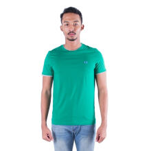 Authentic Fred Perry Men Green Round Neck T Shirt Green XXL