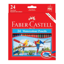 FABER-CASTELL Watercolour pencils parrot 24 L 114464