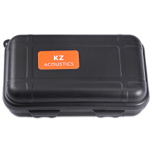 KZ PP Portable Earphones Accessory Box Black