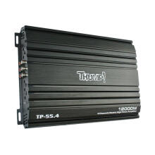 Thump TP-55.4  4 Channel Mosfet Power Amplifier   Max. 12000W - Black