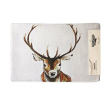 BATHMAT DEER  40X60 CM  KESET KAKI - MULTICOLOR