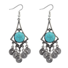 Vintage Turquoise Stone Dangle Earring