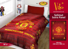 Selimut Vito Sutra Panel 150x200 MU - Red Red