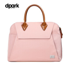 dpark Classic Business Briefcase for 13.3 inch Notebook - Pink