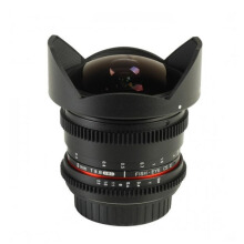 Samyang For Canon 8mm T3.8 UMC Fish-Eye CS II VDSLR (Detachable Hood) Black