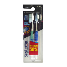 SYSTEMA Toothbrush Power Clean Big - Isi 2
