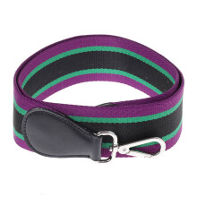 PROMESA Black Purple Stripe Pattern Strap - Black