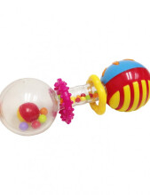 LUCKY BABY Totter Shaker Rattle (Assorted Colors)