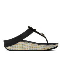 FITFLOP Jeweley Toe-Post(A42-001) - Black