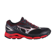 MIZUNO WAVE INSPIRE 13 - BLACK / SILVER / TRUE RED