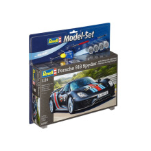 REVELL Model Set Porche 918 Spyder Weissach - Black