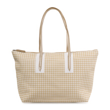 VOITTO Daily Tote 0801A - Beige/Gold