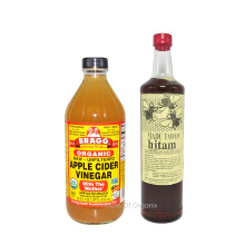 BRAGG Apple Cider Vinegar 473 Ml + Madu Hitam Sumbawa 640 Ml