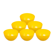 PLASTIK ONE Mangkok Bubble PP - MBP-0022 (Kuning) Set of 6
