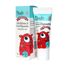 Buds for kids Children's Toothpaste with Fluoride - Strawberry [1-3 years]