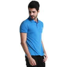 Fredperry Men- Blue Polo wt Dull Blue Twin Tipped