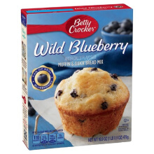 BETTY CROCKER Muffins Wild Blueberry 479g