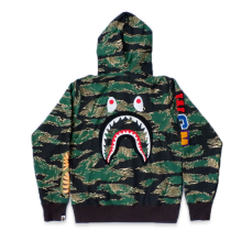 Bape Sweater WGM Shark Green Camo size L