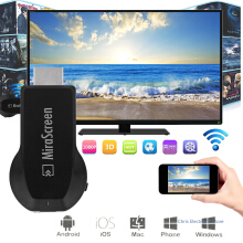TBQ Mirascreen MX DLNA Airplay WiFi Display Miracast TV Dongle HDMI Receiver Mini Android TV Stick Full HD 1080P TV Stick Black