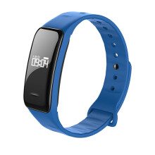 BESSKY B1 Blood Oxygen Pressure Heart Rate Monitor Pedometer Smart Watch Band Bracelet-