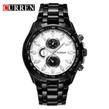 CURREN 8023 men Watches Brand Luxury Men Military quartz Watches Full Steel Waterproof Watch