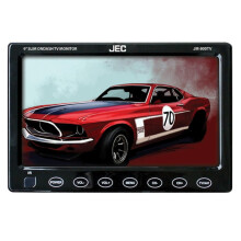 JEC JM-900TV  9 On Dash LED Monitor - Black