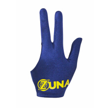 Zuna Sport Unisex Basic Zuna Billiard Gloves Full Finger Blue