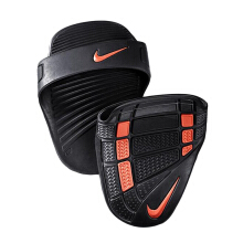 NIKE Alpha Training Grip  - Black/Dark Charcoal/Total Crimson