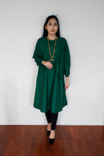 KAYEN Layered Tunic Dress