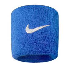 NIKE Swoosh Wristbands - Royal Blue/White [One Size] N.NN.04.402.OS