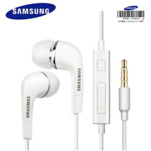 Smatton Original Genuine Samsung headphones Earphone In-ear with control speaker for Samsung Galaxy S3 S4 S5 EHS64 Headsets White