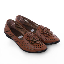 ANYOLORICH Ladies Flat Shoes SM 03 - Tan