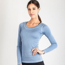 GRIPS Ladies Long Sleeves TEE SHIRTS - BLUE