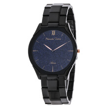 Alexandre Christie AC 8517 MH BIPBAIV Blue Dial Stainless Steel [ACF-8517-MHBIPBAIV] Black