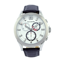 Moment Watch Guy Laroche G6055-01 - Jam Tangan Pria - Leather Strap Black